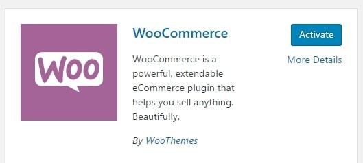 activar WooCommerce