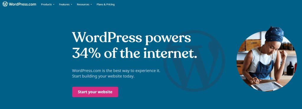 wordpress.com home