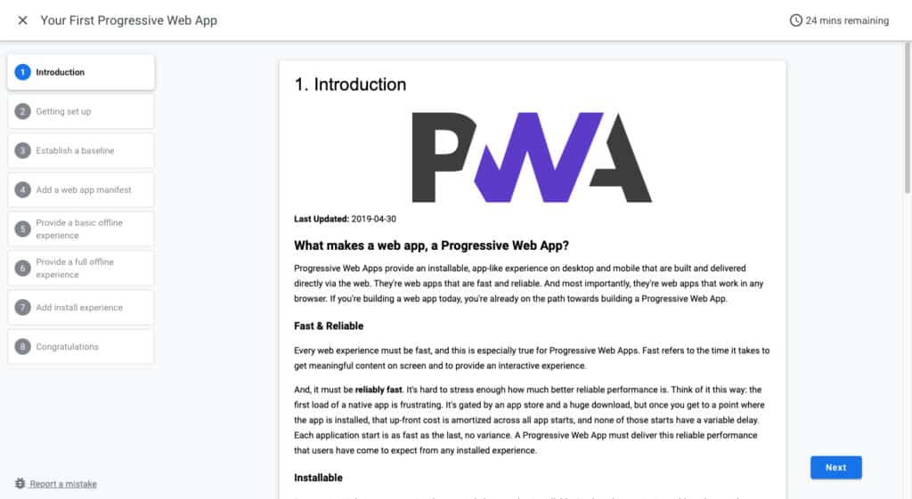 Your First Progressive Web App - Learn to Code