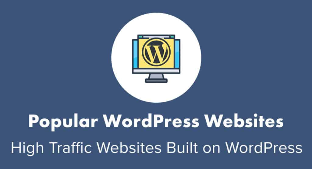 popular WordPress websites