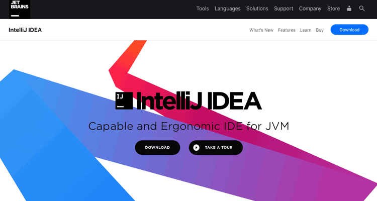 One of the best IDE for web development, IntelliJ IDEA.