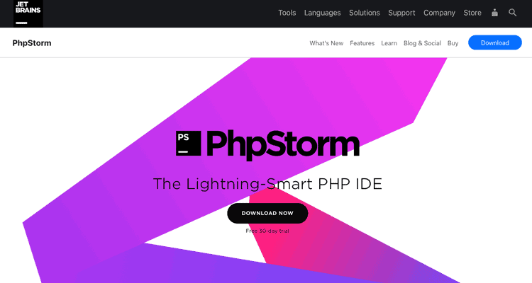 PhpStorm website