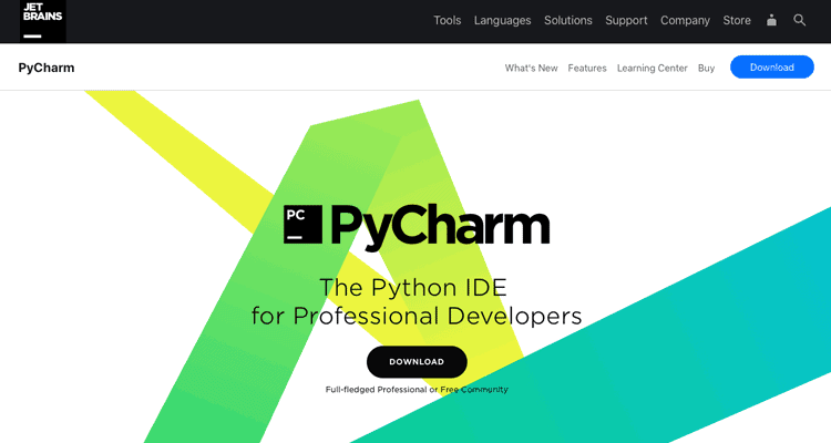 PyCharm website