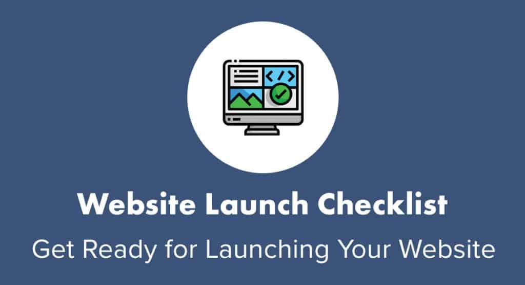 Free Website Launch Checklist
