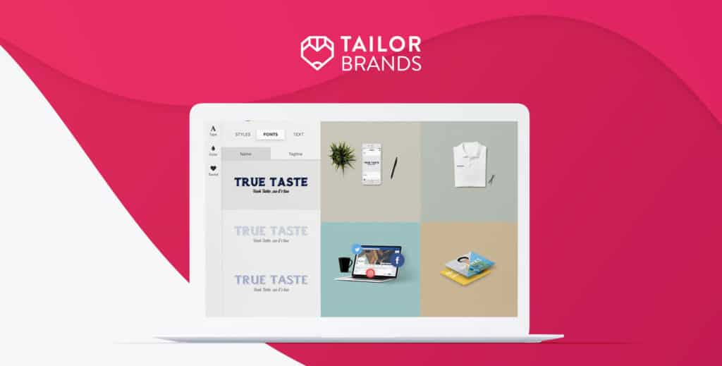 TailorBrands logo maker