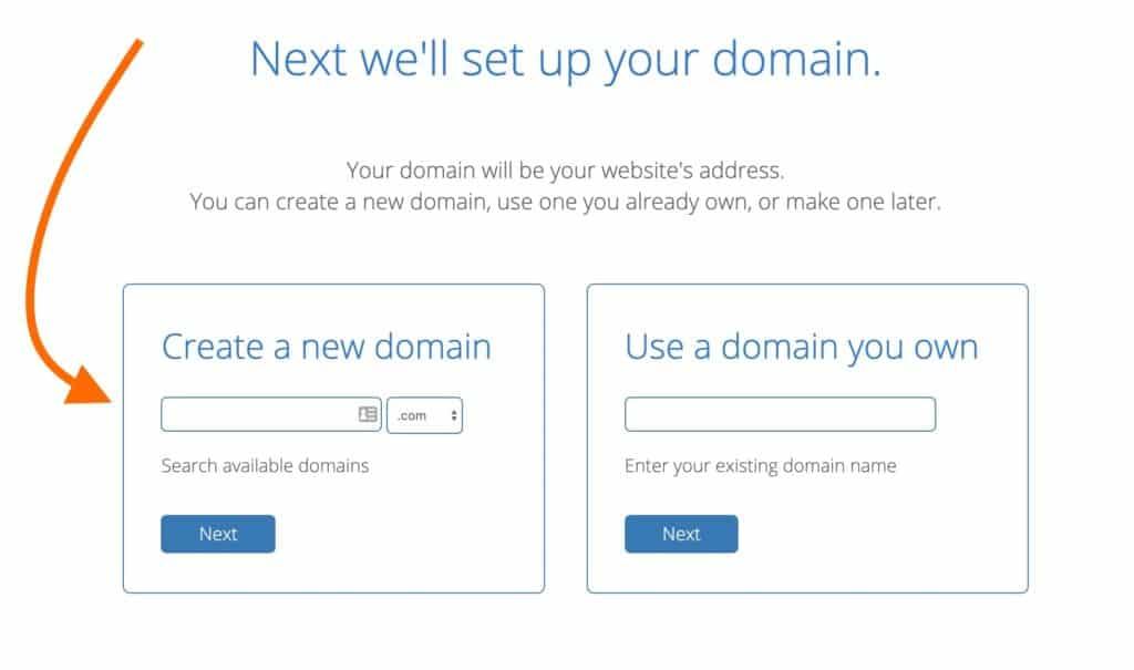 pick domain