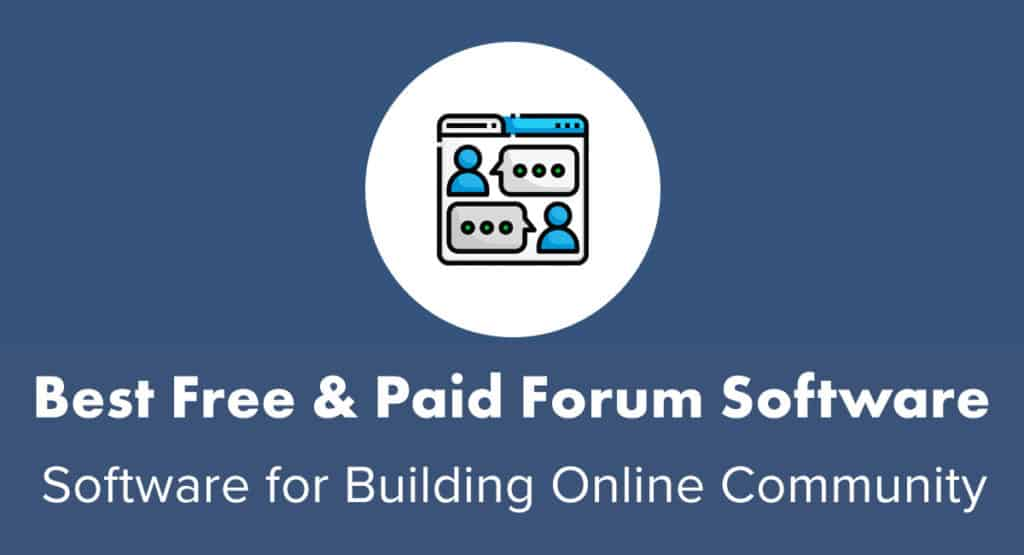 Best Free and Paid Forum Software