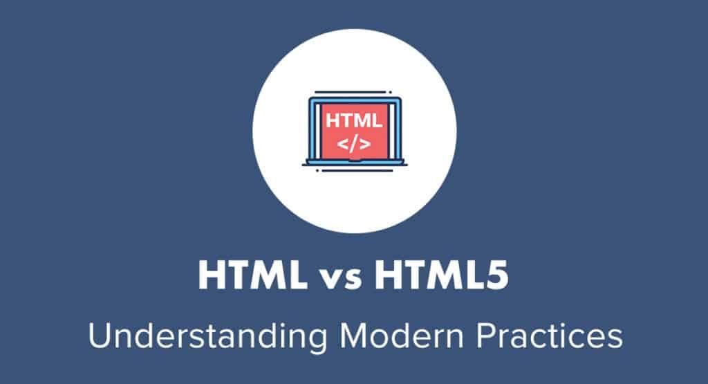 HTML vs HTML5