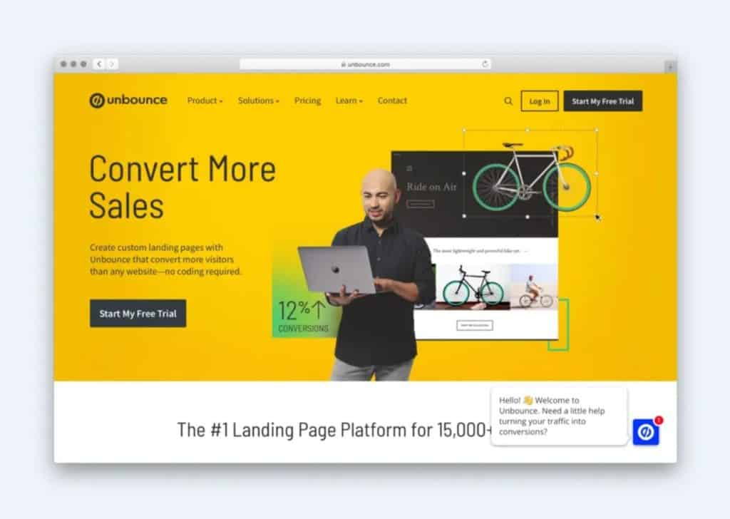Unbounce is one of many tools that allows you to quickly and easily building landing pages.