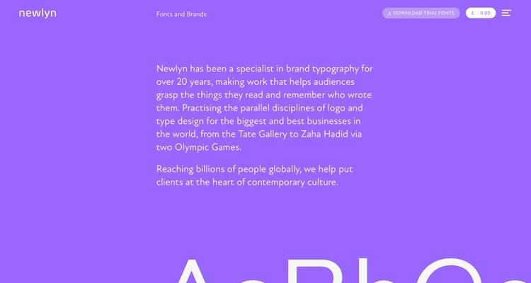 The niche website Newlyn.