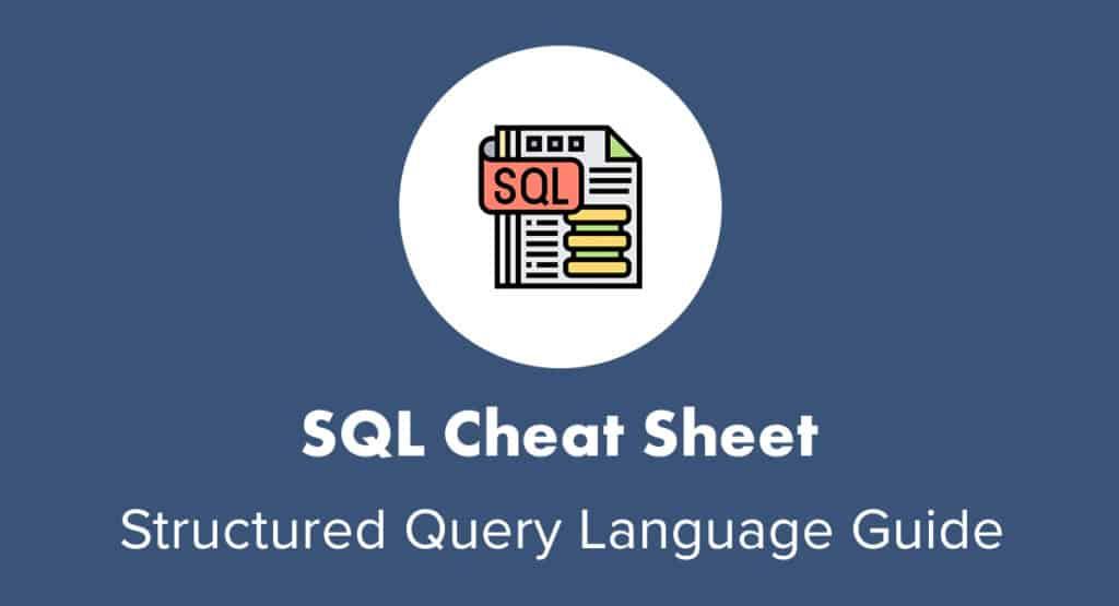 SQL Cheat Sheet Intro Image