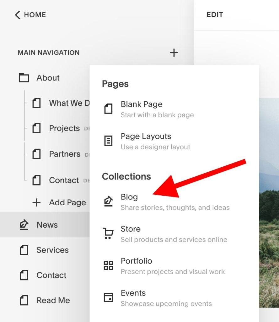 How to use Squarespace: add a blog