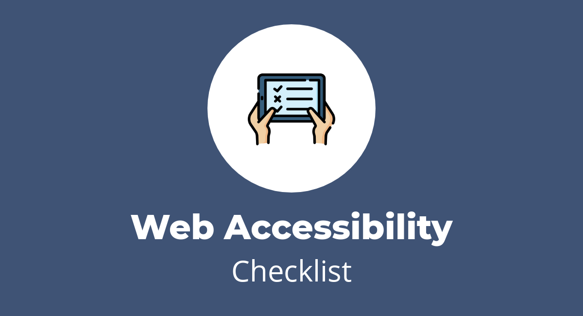 Website Accessibility Checklist (15 Things You Can Improve)    websitesetup.org