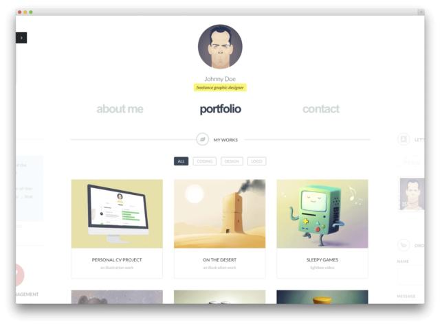 online portfolio is better