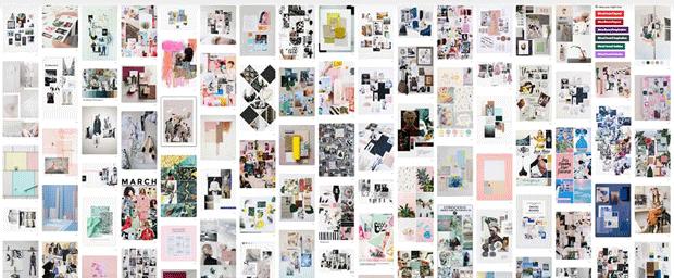 Pinterest mood boards
