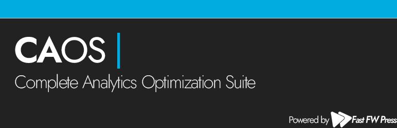 caos complete analytics optimization suite