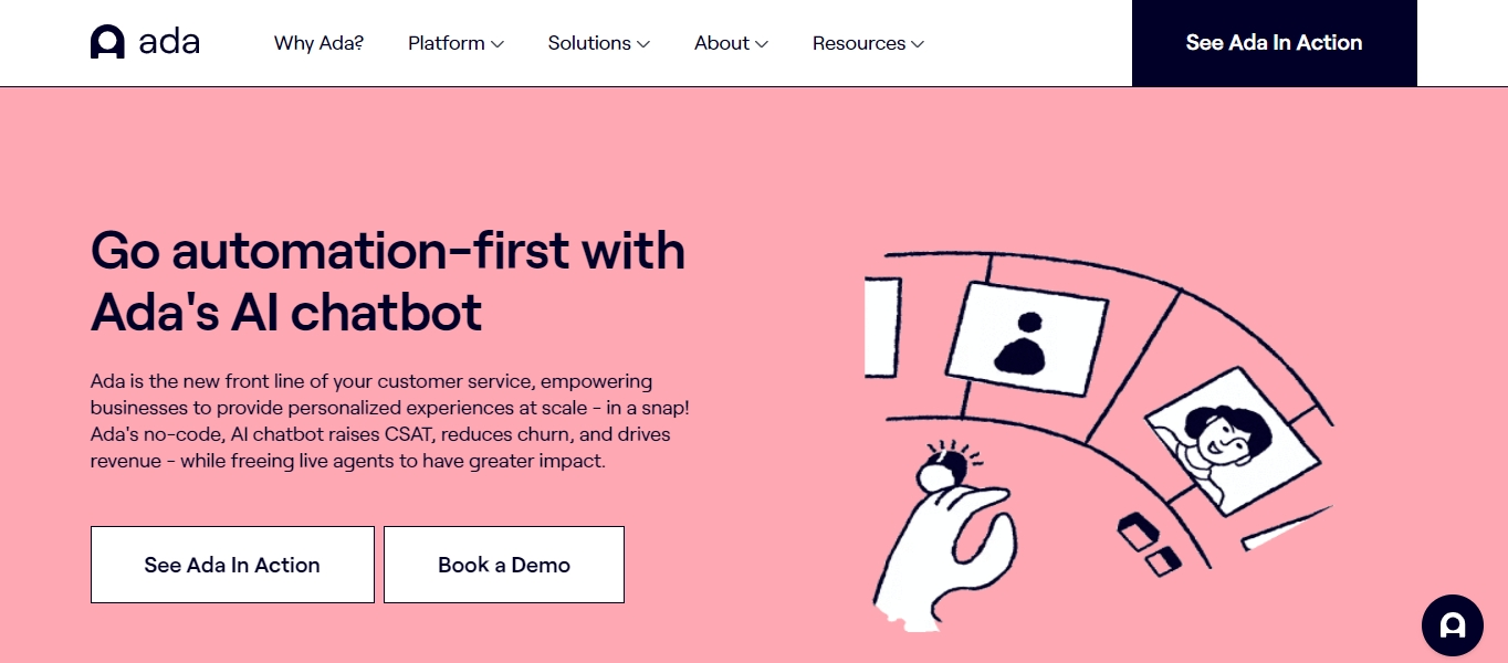 Ada automation chatbot