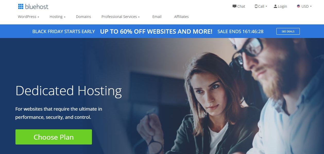 Bluehost dedicated server review