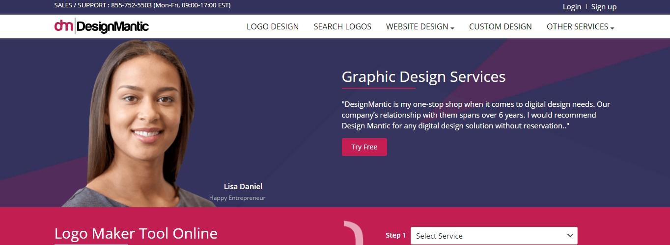 DesignMatic logo maker