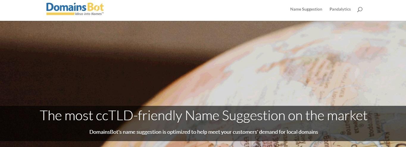 DomainsBot domain name generator