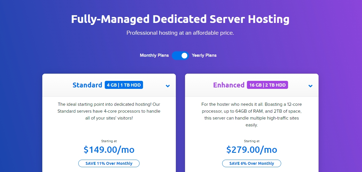 DreamHost dedicated server review november