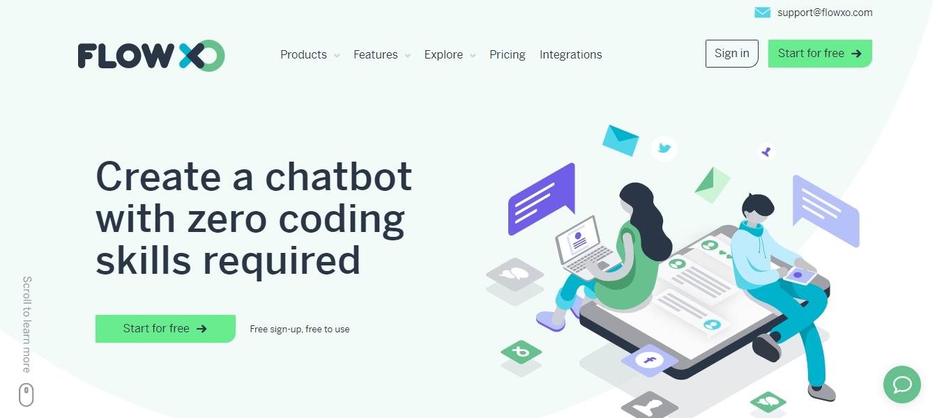 Flow XO automation chat platform