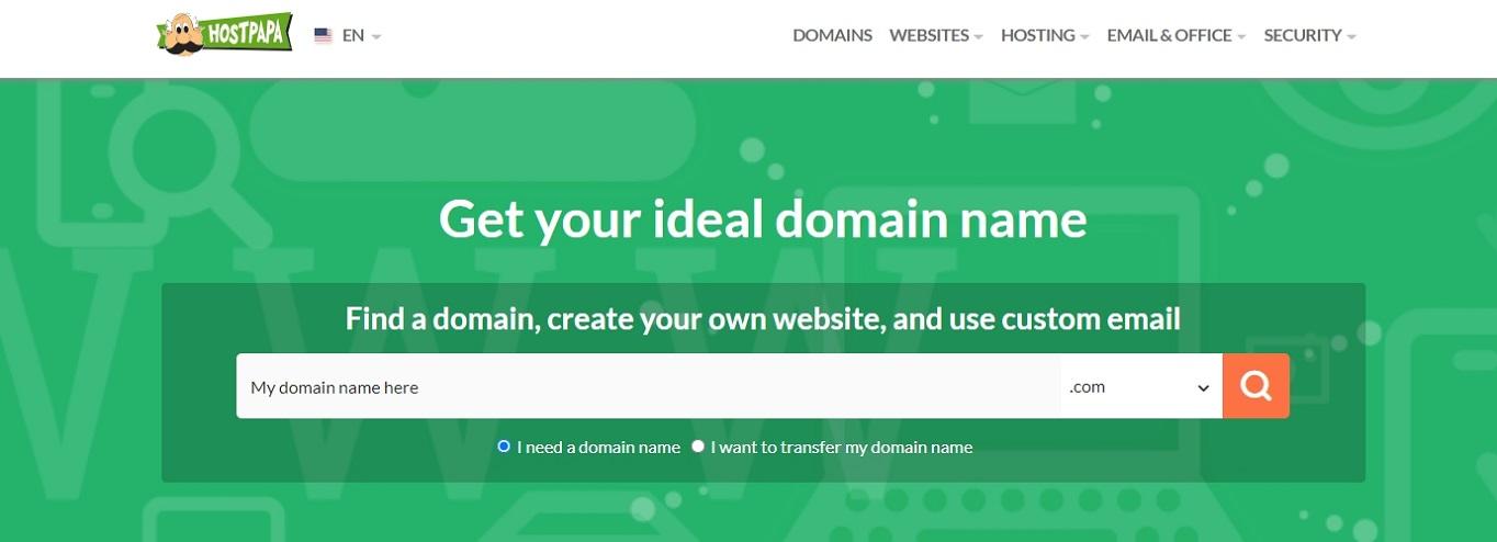 HostPapa domain name generator november 2020