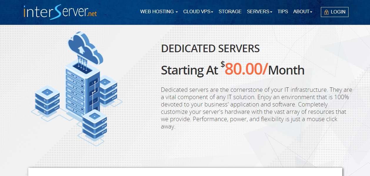 InterServer dedicated server review