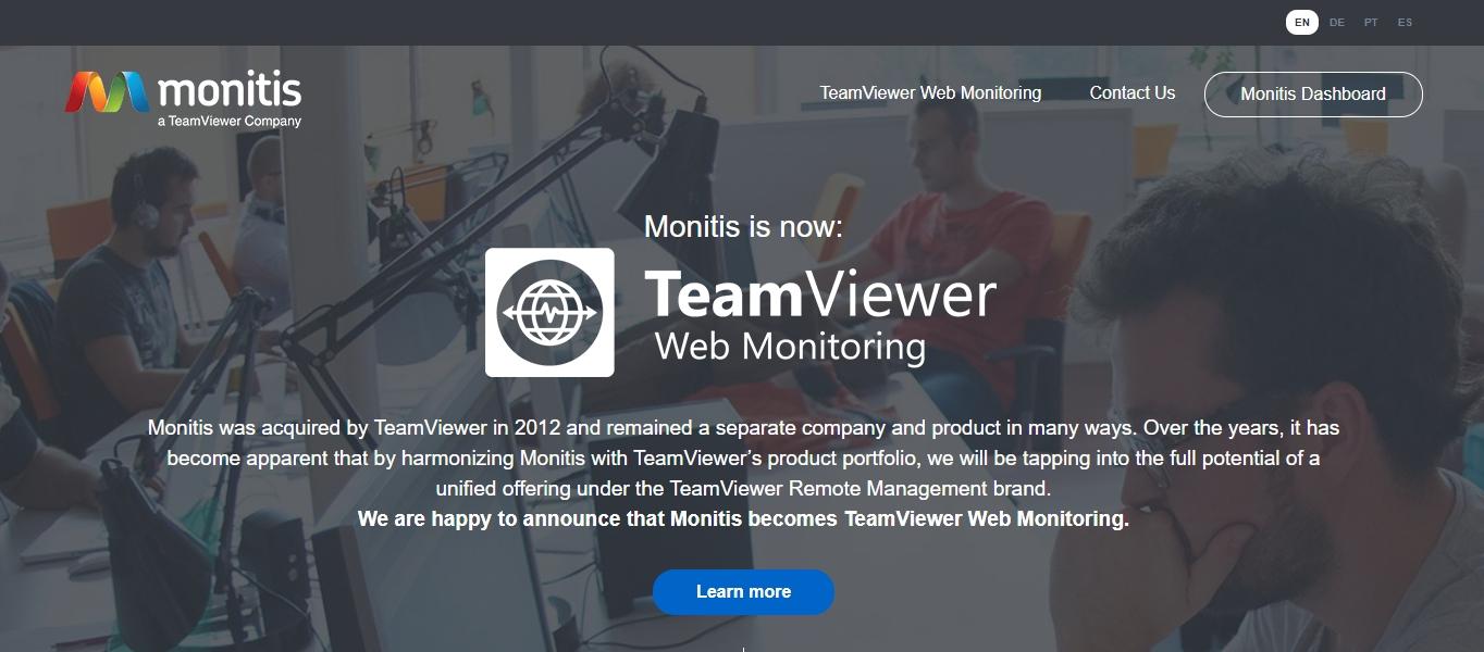 Monitis website monitoring tool