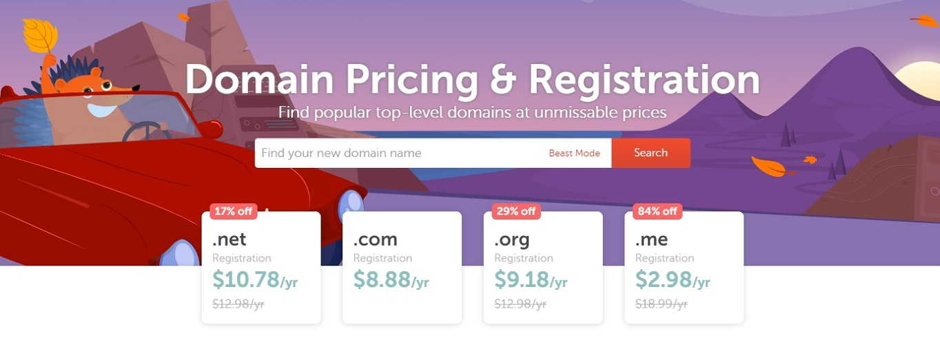 NameCheap domain name generator