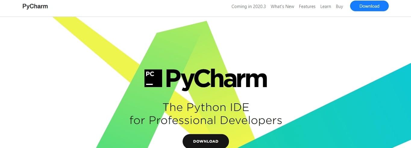 PyCharm IDE website