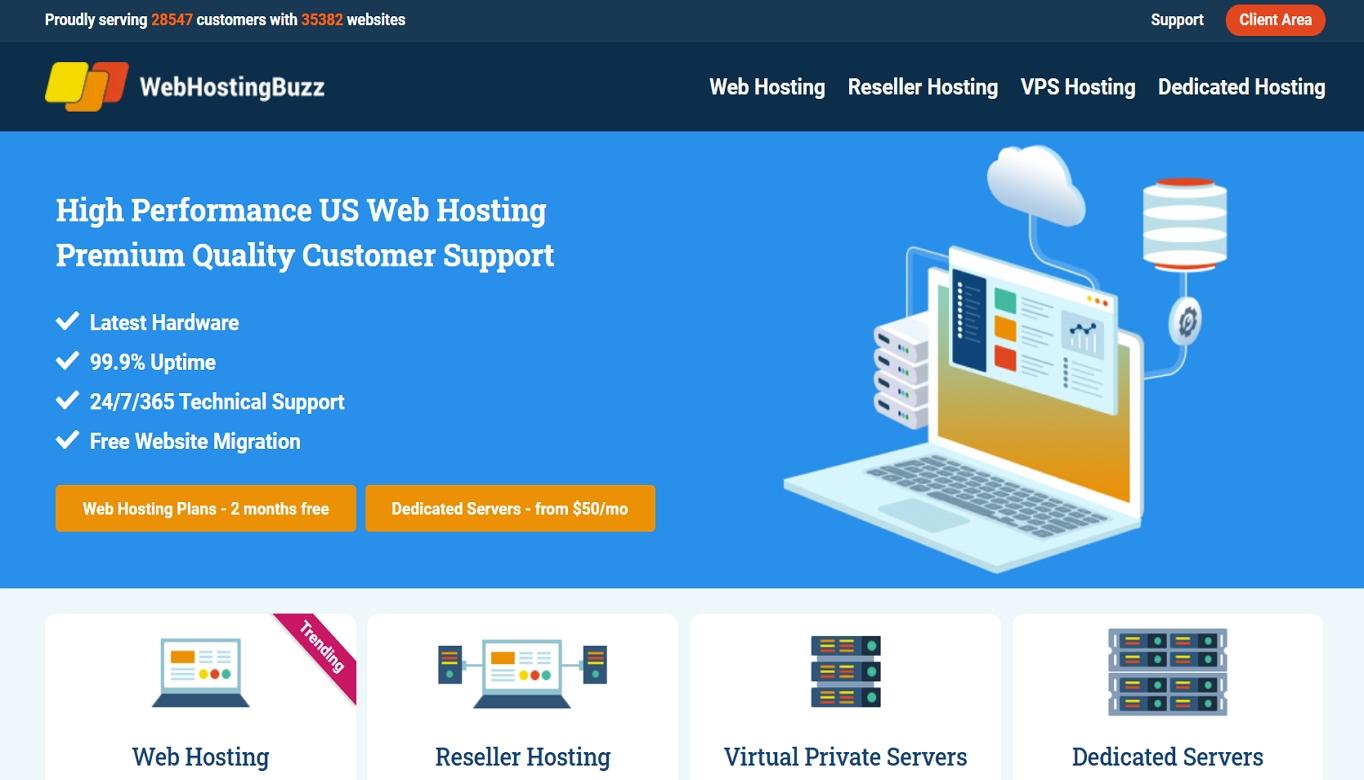 WebHostingBuzz hosting review
