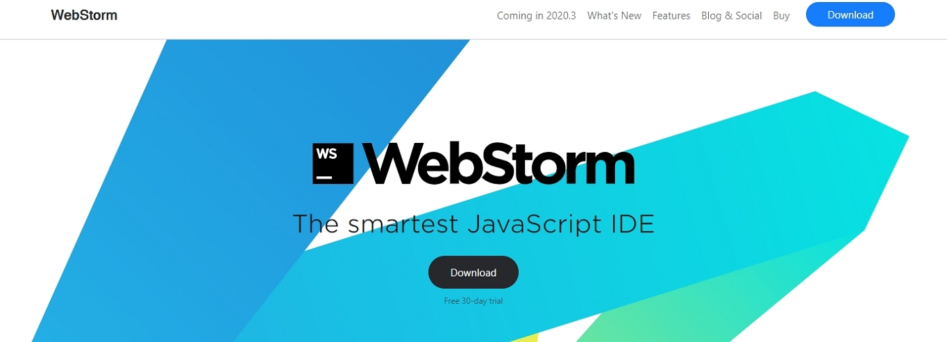 WebStorm IDE website