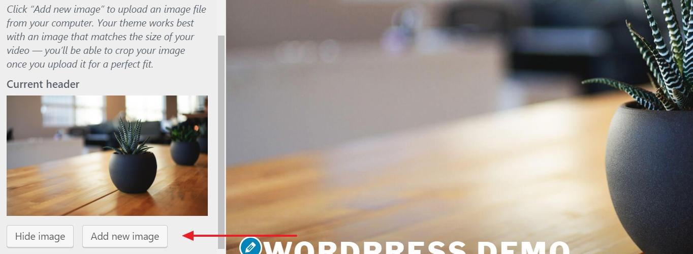 WordPress add new image