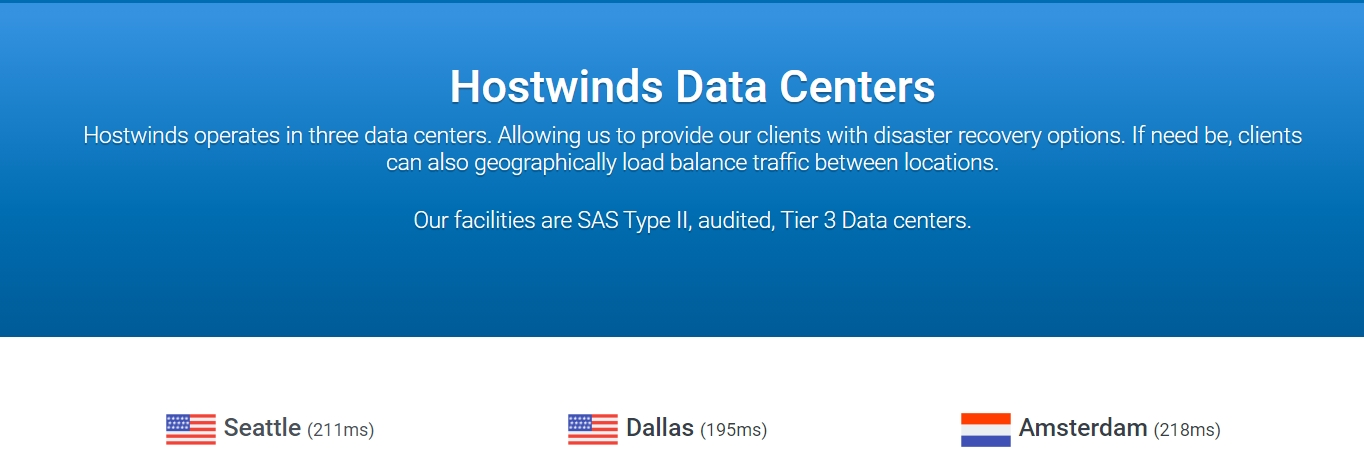 Hostwinds data centers