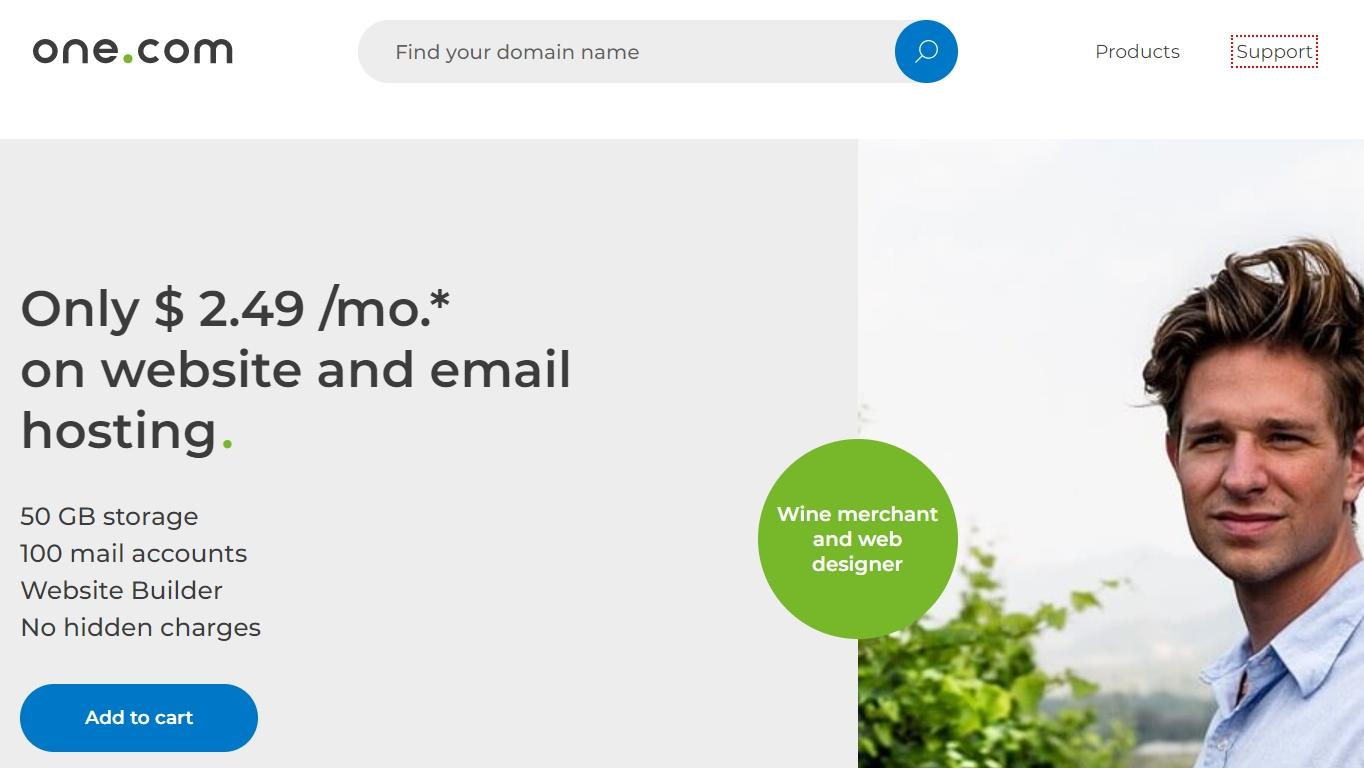 one.com hosting review