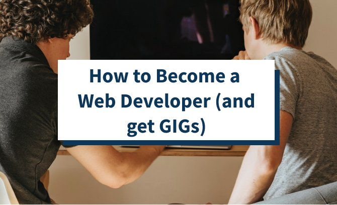 How to Become a Web Developer featured image