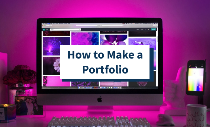 How to Make a Portfolio featured image
