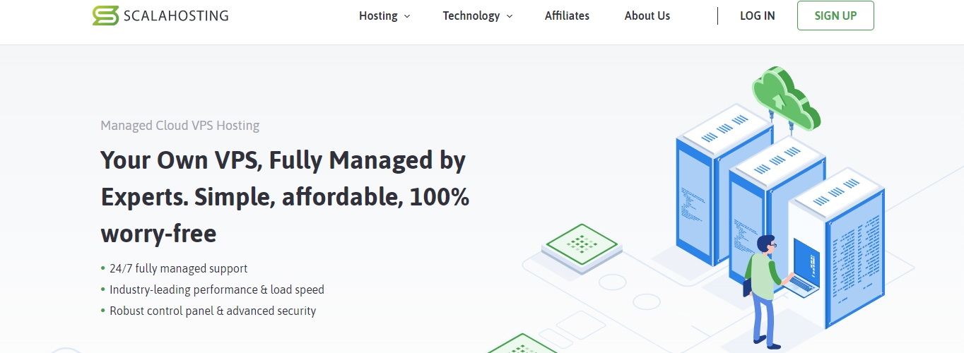ScalaHosting VPS review