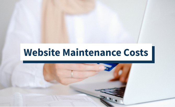 Website Maintenance Costs featured image