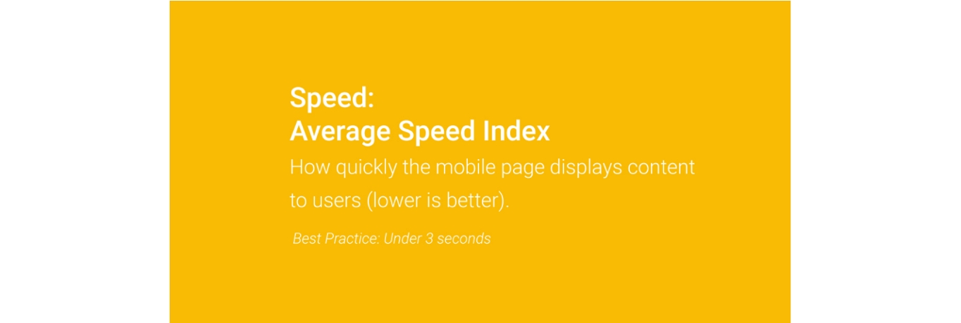 google mobile speed loading time best practice