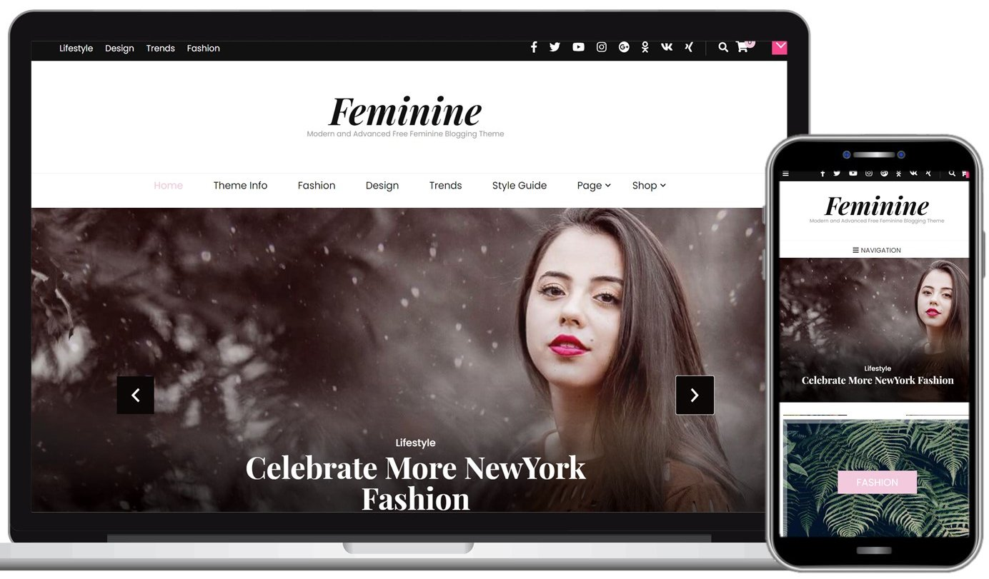 Blossom Feminine Free WordPress Theme