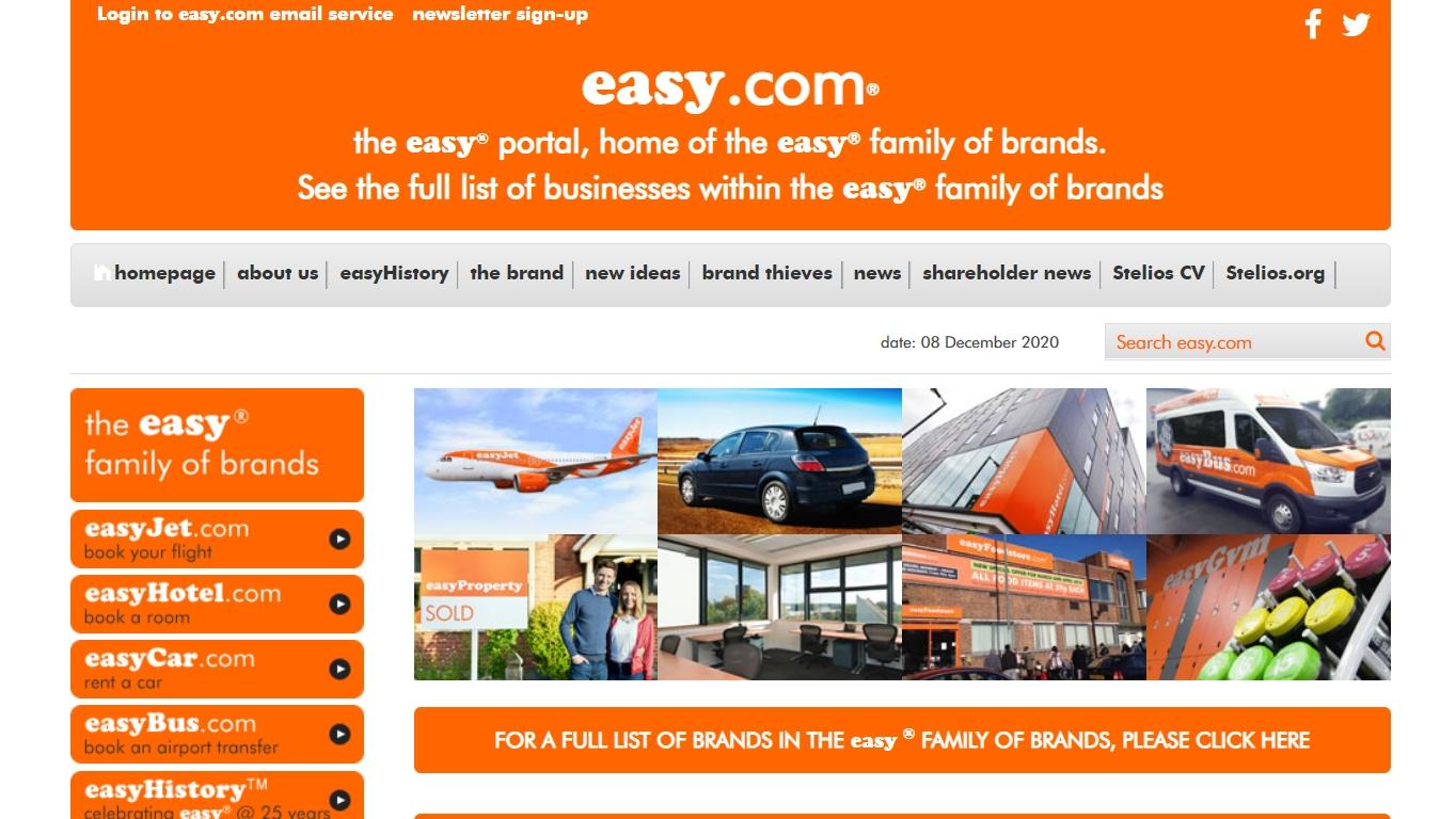 Easygroup orange theme
