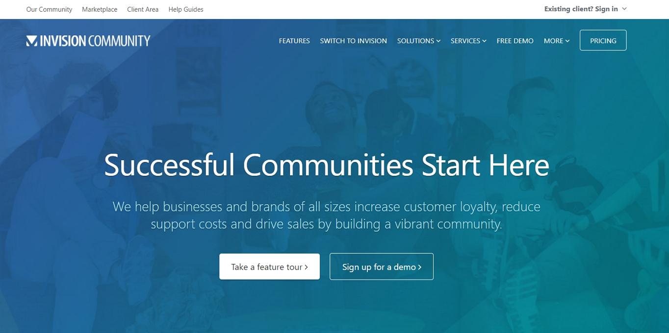 The Invision Power Board website.