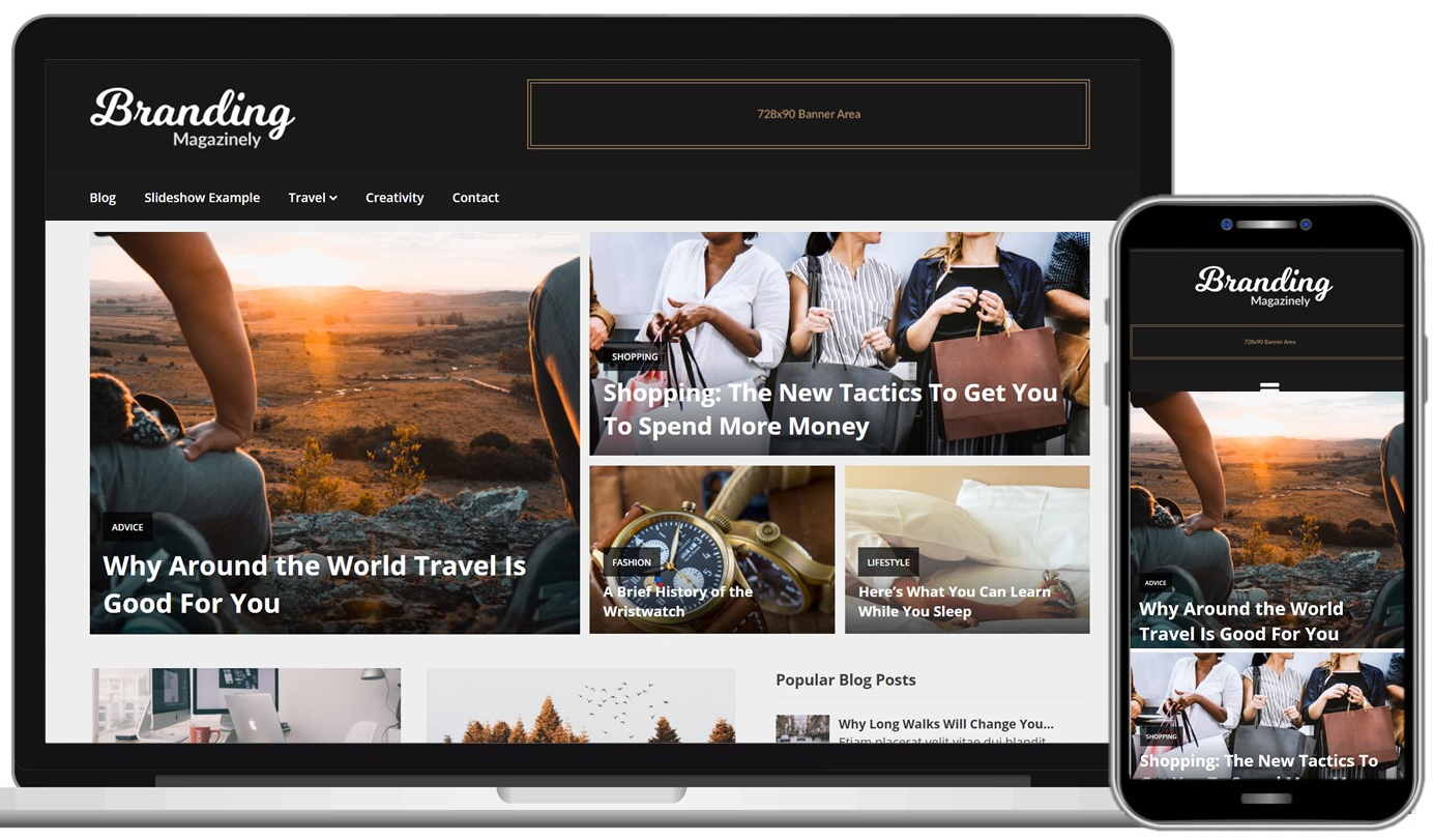 Magazinely Free WordPress Theme