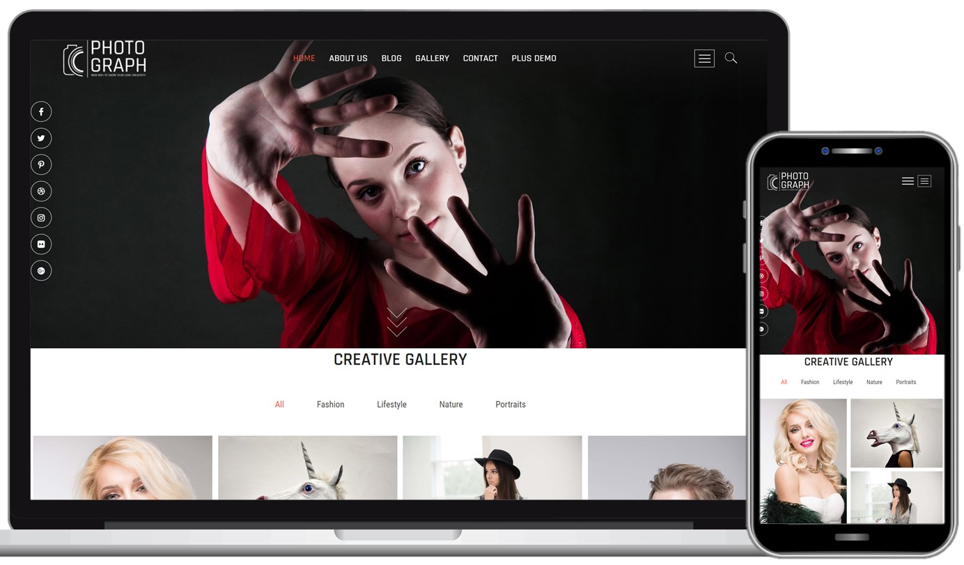 Photograph Free WordPress Theme