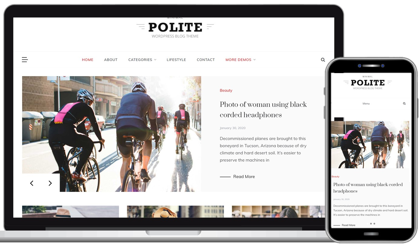 Polite Free WordPress Theme