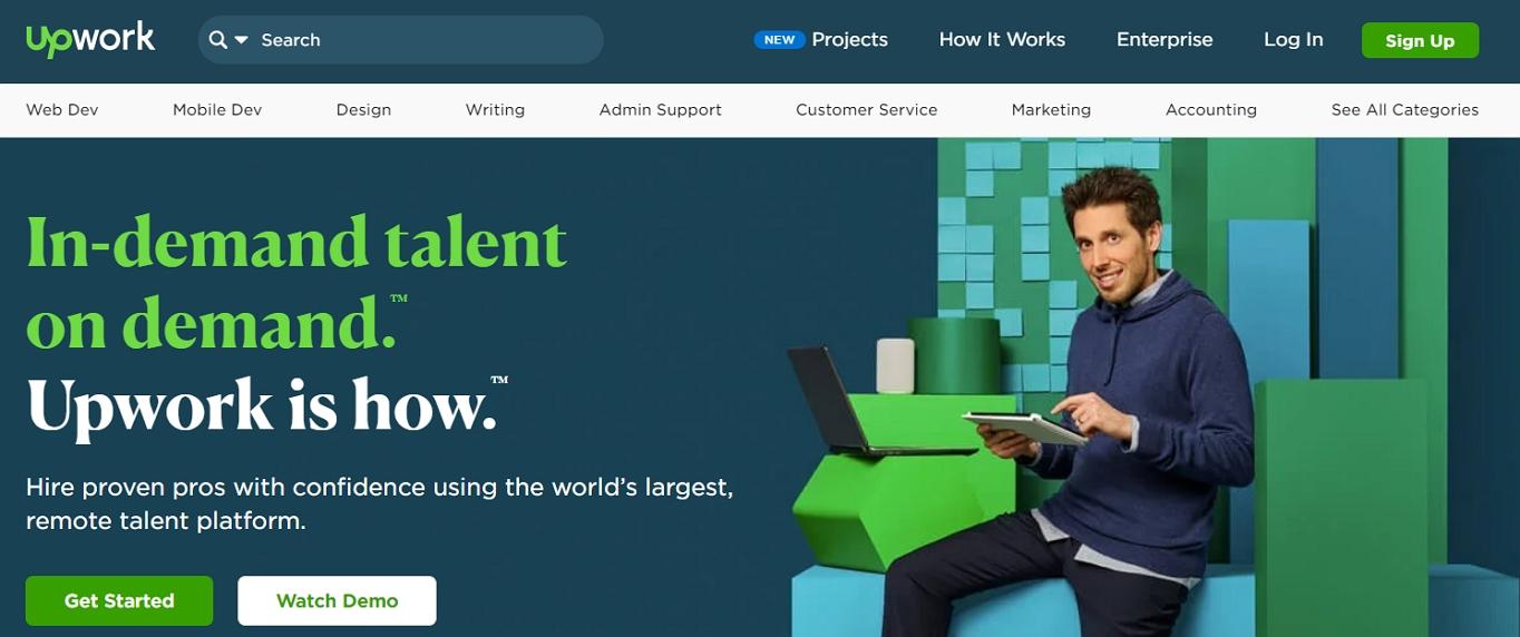 Upwork Web Development Jobs