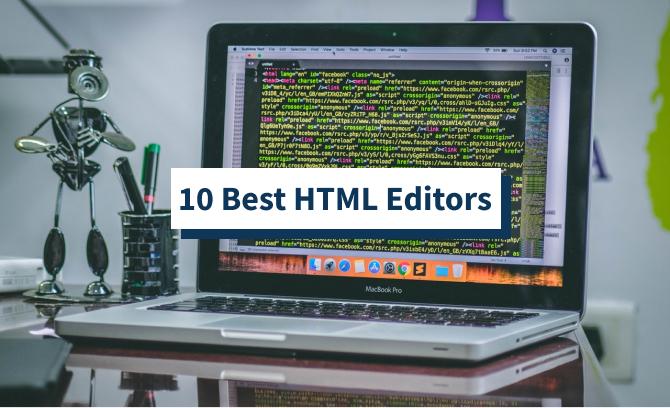 10 Best HTML Editors