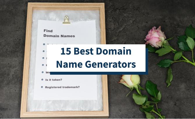 15 Best Domain Name Generators